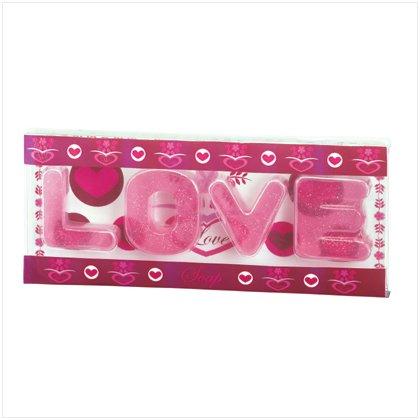 'LOVE' TRANSPARENT SOAPS---Item #: 37512