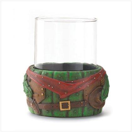 GLASS TUMBLER ON CACTUS BASE---Item #: 36513