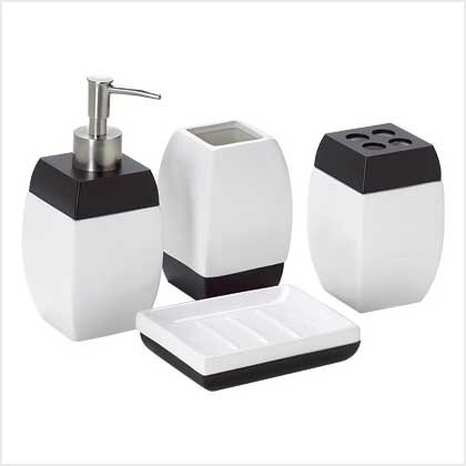 SERENITY 4-PC BATH SET---Item #: 38771