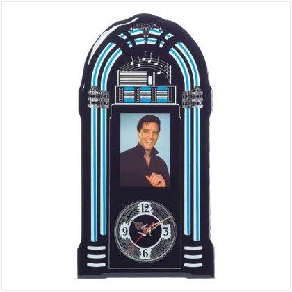 ELVIS JUKEBOX CLOCK---Item #: 36714