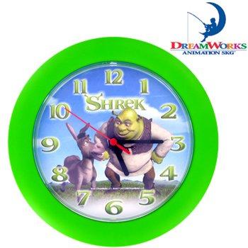 SHREK AND DONKEY CLOCK---Item #: PP2186