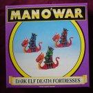Warhammer Man O' War Dark Elf Death Fortresses