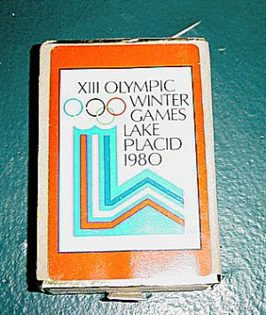 Deck of Congress 1980 XIII Olympic Winter Games Lake Placid Cards #600019