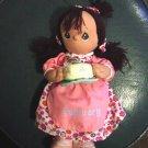 Dark Skinned Precious Moments February Birthday Doll  #600030