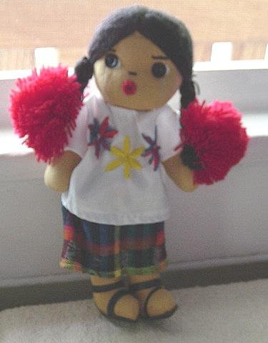 Little Spanish Style Hand Made Doll #600040
