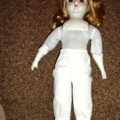 "15"" Vintage Strawberry Blond Doll   #600098"