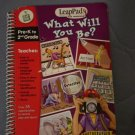Leap Pad LeapFrog Interactive Book What Will You Be?  #600159