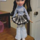 "Bratz MGA 2001 10"" Fashion Doll with Long Braided Black Hair #600191"
