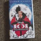 1997 Disney 101 Dalmatians 1997 Glenn Close VHS Video #600258