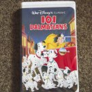 Walt Disney Classic 101 Dalmatians VHS Video #600280