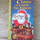 Golden Books Holiday Classics Collection Santa Claus is Comin to Town  #600285