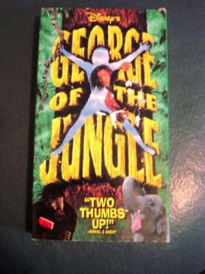 Disney's George of the Jungle VHS Video   #600296
