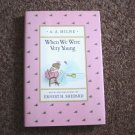 Hardback Book When We Were Very Young Written by A.A. Milne #600319