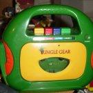 Jungle Gear Spectra Portable Sing-Along Cassette Player Yep-220 #600328
