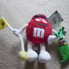 M&M Plush Golf Guy Doll with Candy 18th Hole #600331