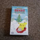 VHS Video Nintendo Pokemon Pikachu's Winter Vacation at Little Shoppe of Toys #600342