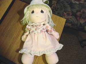 "11"" Precious Moments Ready for Spring Doll  #600345"