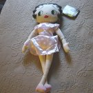 "17"" Betty Boop KellyToy 2003 Cheerleader Betty Doll #600375"
