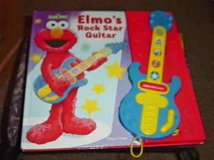 Elmo's Rock Star Guitar Interactive Music Book #600405