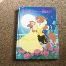 Disney 1991 Beauty and the Beast Hardcover Book #600406