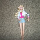Mattel Barbie 2005 Fashion Barbie Doll with Skirt Hooded Sweater #600415