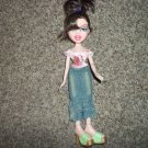 "Bratz MGA 2001 10"" Fashion Doll with Top, Jeans Skirt and Shoes #600417"