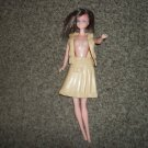 "1980 Vintage 11 1/2"" Fashion Doll with Vinyl Skirt and Vest #600419"