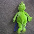 """Dr. Seuss 21"""" Grinch Who Stole Christmas Plush Backpack Bag #600484"""