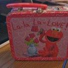 Sesame Street Elmo La-la La-love Mini Metal Lunch Box #600502