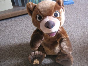 "Disney Tumble 'n' Laugh Koda Brother Bear 12"" Tall Toy #600505"