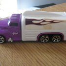 2001 Mattel Hot Wheels Purple and White Truck #600525