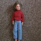 1973 Mattel Mod Hair Ken Doll Sweater and Bib Overalls #600531