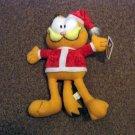 Plush Toy Factory Garfield Christmas Santa Claus Stuffed Animal   #600535