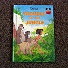 1984 Disney Trouble in the Jungle Grolier Hardcover Book #600549