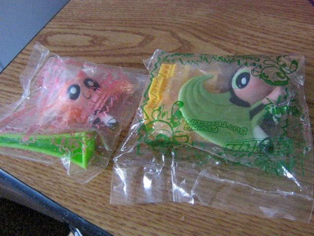 Set Of Two Subway Powerpuff Girls Kids Pak Toy Blossom