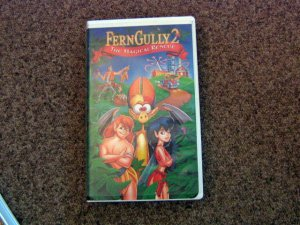 1998 Ferngully 2: The Magical Rescue VHS Video #600554