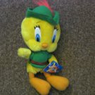 Looney Tunes Tweety Bird Robin Hood Stuffed Plush Doll #600579
