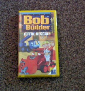 2001 VHS Video Bob the Builder To the Rescue #600590