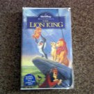 The Lion King (VHS, 1995) Walt Disney Clamshell Video Masterpiece #600593