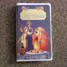 Walt Disney's Fully Restored Lady and the Tramp VHS Tape #600594