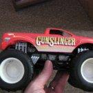 Red Hot Wheels Gunslinger Monster Jam Truck #600617