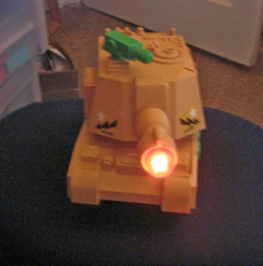 Go Go Vehicles Army Peace Force 12 Toy Tank with Sound Effects #600643