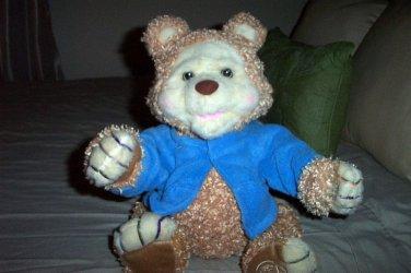 SALE TJ Bearytales Playskool Animated Talking Plush Teddy Bear  #600646