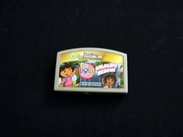 Leapster L-Max Cartridge Dora the Explorer Wildlife Rescue #600652