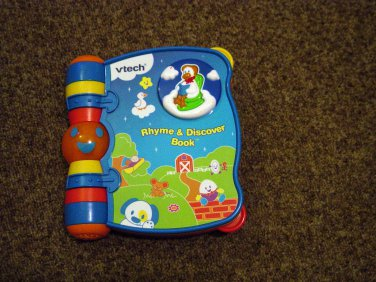 Vtech Baby Rhyme & Discover Musical Talking Book #600399