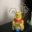 Adorable Disney Winnie the Pooh Photo Holder Hard Cast Resin #600658