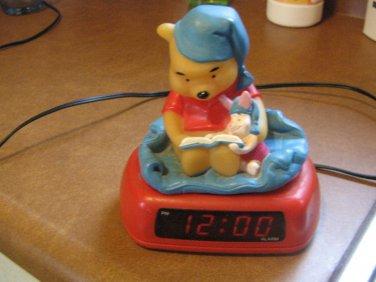 Winnie The Pooh Electric Light Up Alarm Clock Fantasma Disney Bedtime Story #600611