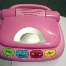 Kids Colorful Pink Vtech Tote & Go Laptop Computer #600396