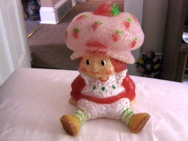 "Strawberry Shortcake ""EVA"" Night Light Doll Plastic Resin  #600476"