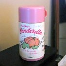 8 Oz. Alladin Walt Disney's Pink and White Cinderella Thermos #600573